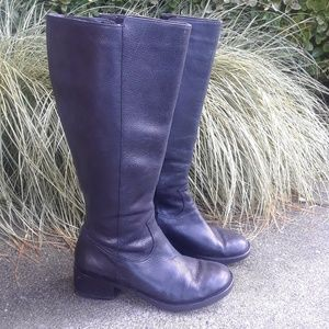Rockport leather knee high boots sz 9M